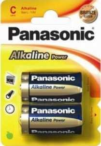 Батарейка Panasonic Alkaline Power Lr14/343 Bl2 (арт. 296919)