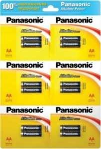 Батарейка Panasonic Alkaline Power Lr6/316 Bl12(2*6) (арт. 220085)