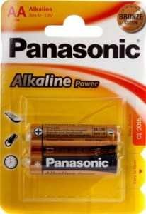 Батарейка Panasonic Alkaline Power Lr6/316 Bl2 (арт. 220219)