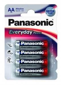 Батарейка Panasonic Everyday Lr6/316 Bl4 (Standard 214528) (арт. 387849)