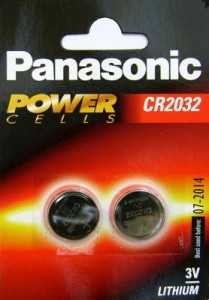 Батарейка Panasonic Cr2032 Bl2 (арт. 3496)