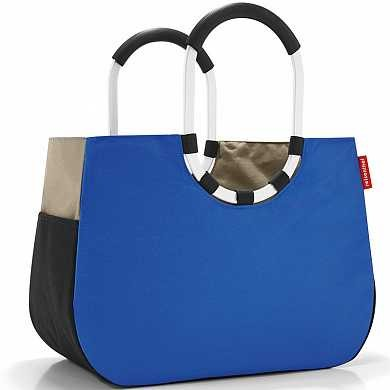 Сумка Loopshopper l patchwork royal blue (арт. OR4036)