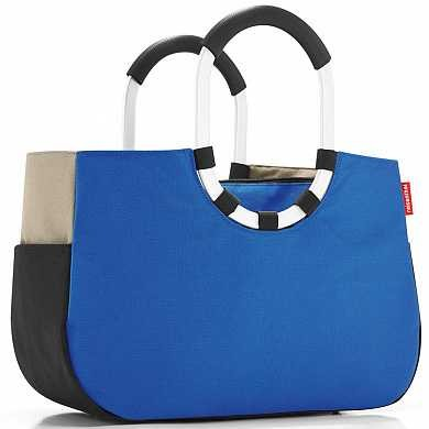 Сумка Loopshopper m patchwork royal blue (арт. OS4036)