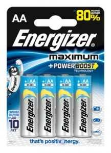 Батарейка Energizer Maximum Lr6/316 Bl4 (арт. 45431)