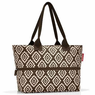 Сумка Shopper e1 diamonds mocha (арт. RJ6039)